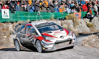 ??  ?? Toyota será uno de los grandes protagonistas este año en México.