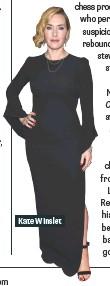 ??  ?? Kate Winslet