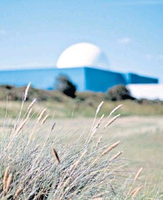??  ?? EDF wants to add another nuclear power plant next door to Sizewell B in Suffolk