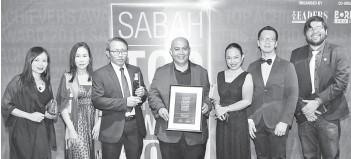 Pressreader The Borneo Post Sabah 2019 03 25 Sabah Net Conferred Industry Excellence In Ict Award