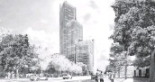 ?? Skanska ?? Skanska is planning a 28-story office tower called 1550 on the Green, part of a three-block master plan.