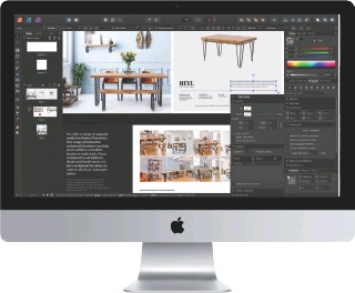 ??  ?? Affinity Publisher has all the essential features of a professional page layout app.