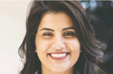 ?? MARIEKE WIJNTJES / HANDOUT VIA REUTERS / FILES ?? Saudi women's rights activist Loujain al-Hathloul, 31, cried when she learned her sentence, her sister said.