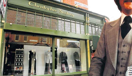 90e2d2ed6dd CHANGING FASHIONS  Christopher Scotney and its eponymous owner – in days  gone by