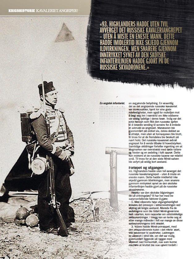 ??  ?? En engelsk infanterist.