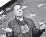 ??  ?? Илон Маск верит в свой полет на Марс