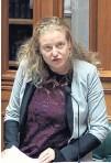 ?? PHOTO: PARLIAMENT TV ?? Dunedinbased Labour list MP Rachel Brooking gives her maiden speech in Parliament on Wednesday.