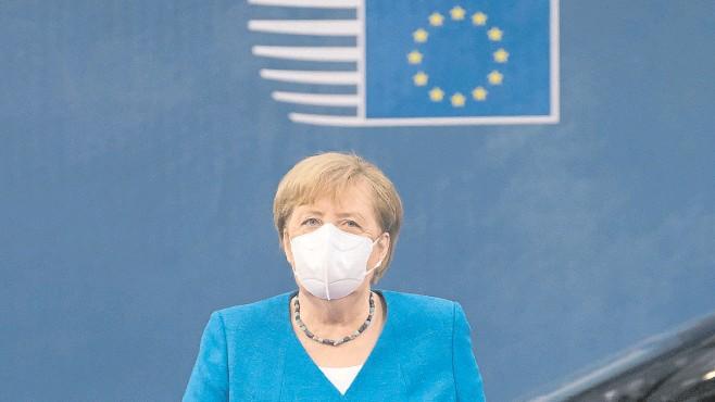 ?? Archivo ?? Angela Merkel hizo su último viaje a Estados Unidos como canciller