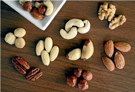 ??  ?? Nuts can be soaked in a warm saltwater solution to make their nutrients more available when eating.