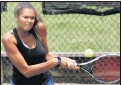?? JOE MAHONEY/TIMES-DISPATCH ?? Deep Run's Olivia Wright has been a firstteam All-Metro selection twice and has won a pair of state team titles with the Wildcats.