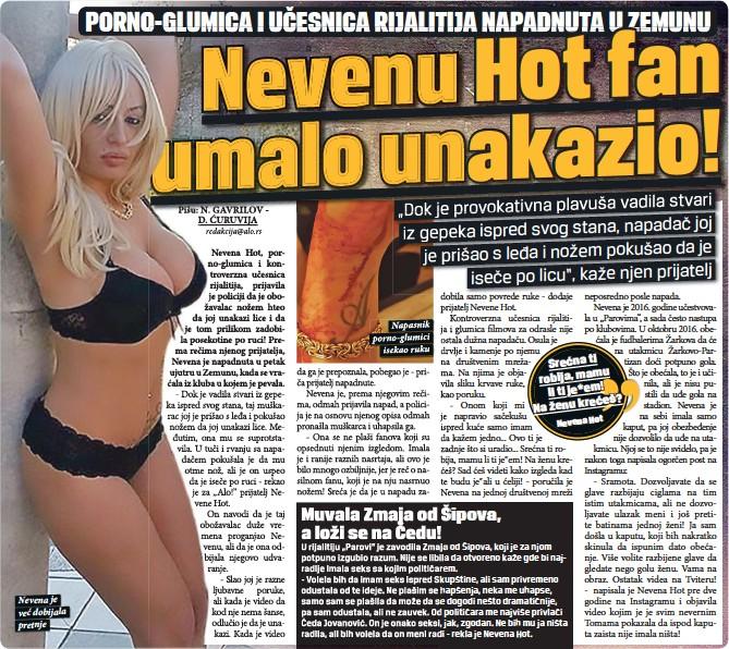 Hot nevena Nevena Hot