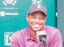 ?? THE MEMORIAL TOURNAMENT FB PAGE ?? FIFTEEN-TIME major winner Tiger Woods