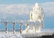 ?? Foto: archiv ?? Budoucnost Evropy? I takto by mohly vypadat zimy v Evropě, pokud se naplní předpovědi některých vědců.