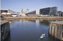 ?? PHOTOGRAPH: CHRISTOPHER THOMOND/ THE GUARDIAN ?? Unesco says the historic value of Liverpool's Victorian waterfront has been significantly changed by development