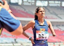 ??  ?? Amara Indumathi aiming to end her career on a high (File pic)