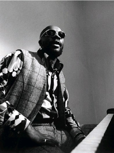 """??  ?? A """"Shaft"""" publicity photo of Isaac Hayes released in 1971"""