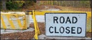 ?? PETE BANNAN — DAILY LOCAL NEWS ?? Mortonville Road in East Fallowfield is closed following flooding earlier this year.