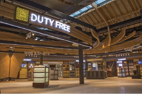 ??  ?? The walk-through Duty Free has a dedicated floor area of approximately 895 square meters, making world-class shopping easy and accessible.