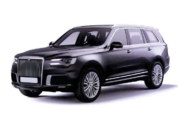??  ?? Það er greinilegt að Komendant er aetlað að keppa við Rolls Royce Cullinan og Bentley Bentayga.