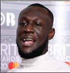 ??  ?? Stormzy See Question 6