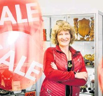 ?? Photo / Andrew Warner ?? Rotorua Jewellers owner Jannine Pearce is getting ready for Black Friday sales.