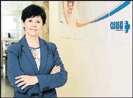 ?? LV ?? La doctora Antonia Solvas, delegada de Asisa en Barcelona