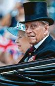 ?? Foto: Xinhua, dpa ?? Elizabeth II. war 73 Jahre lang mit Prinz Philip verheiratet.