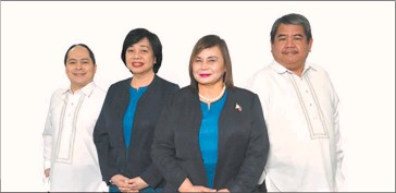 ??  ?? IN PHOTO (L-R) are Philippine Economic Zone Authority (PEZA) Deputy Director General for Operations Mary Harriet O. Abordo, Deputy Director General for Policy and Planning Tereso O. Panga, Director General Charito Plaza, and Deputy Director General for Finance and Administration Justo Porfirio Ll. Yusingco.