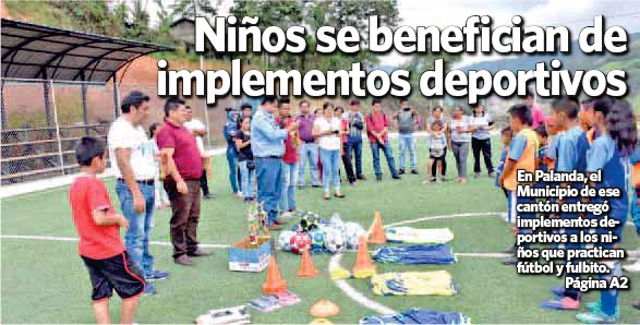PressReader - La Hora Zamora  2018-12-10 - Niños se benefician de ... 7457e3faebc99
