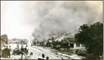 ??  ?? Tulsa on fire, June 1, 1921