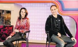 ??  ?? Talk-Lady Vera Russwurm und Comedian Gernot Kulis