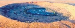"""??  ?? X-Large-Krater – die """"Schlaglöcher""""der Meteoriten"""