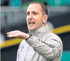 ??  ?? Celtic's interim manager, John Kennedy