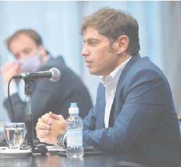 ??  ?? El gobernador de la provincia de Buenos Aires, Axel Kicillof, pretende reducir en un 75% los pagos hasta 2024