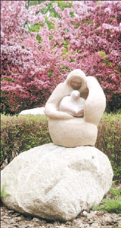 ?? SUPPLIED BY LYNN PARISH ?? Mother Earth Circling, the pride of Rossdale, by Stewart Steinhauer
