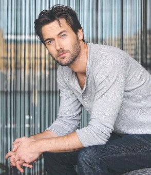 ??  ?? Ryan Eggold enjoys his character's dysfunctional relationship with his wife.