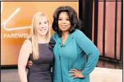 ?? George Burns, © 2011 Harpo Productions, Inc./All Rights Reserved ?? Posing with Oprah Winfrey at the Jan. 20th taping of the talk show episode that airs today, Marr says she wanted to show the world how she's turned her life around.