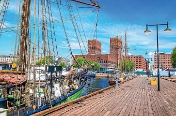 ??  ?? The Norwegian capital's harbour has been transformed.