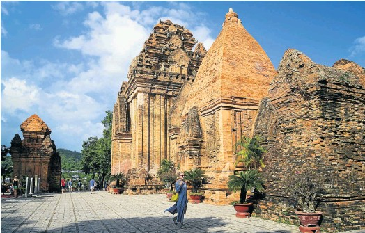 ?? Picture: 123rf.com/sikaraha ?? ISLAND OF PEACE The ancient temple complex of Po Nagar in touristy Nha Trang.