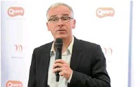 ??  ?? Quorn Foods CEO Kevin Brennan