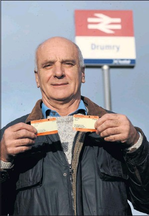 ??  ?? STUART GRAY: Noticed disparities between fares charged for journeys to Edinburgh. Picture: Jamie Simpson