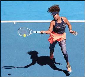 ??  ?? Naomi Osaka, lors de sa victoire à l'Open d'Australie contre Serena Williams.