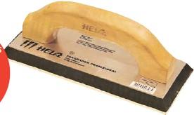 ??  ?? - Ancho: 100 mm. - Largo: 230 mm. - Mango de madera. - Uso: pisos. Más info en: www.easy.cl