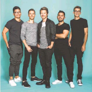 ?? FACEBOOK. COM ?? Tenth Avenue North has played Riverbend, but Saturday's show at Jfest marks its first appearance at that festival.