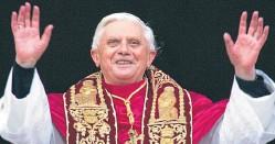 ??  ?? Joseph Ratzinger became Pope Benedict XVI in 2005.