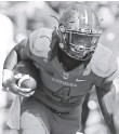 ?? NOAH K. MURRAY, USA TODAY SPORTS ?? Rutgers' Leonte Carroo has been suspended for a second time.