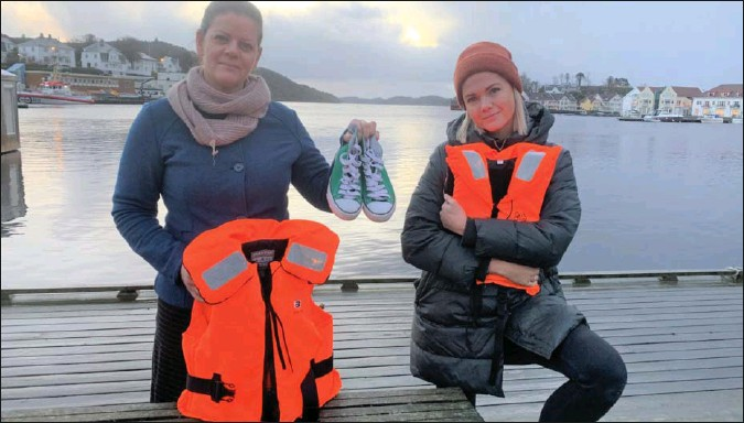 ?? FOTO: BJØRN HOEL ?? Hanne Vennebo Turøy og Maria Abrahamsen Østhassel vil ha med folk fra hele regionen på demonstrasjonen.