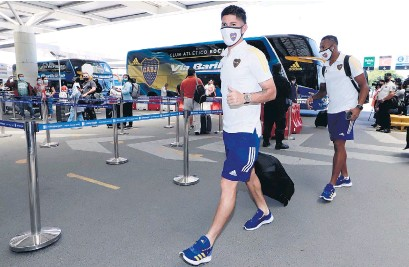 ?? Prensa Boca ?? Campuzano y Villa parten rumbo a Brasil.
