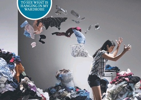 ??  ?? LOSE IT: Decluttering your home can be a liberating experience which will benefit your state of mind and your health.