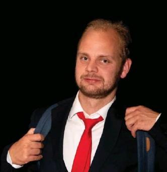 ?? JAN INGE HAGA ?? Mímir Kristjánsson er førstekandidat for Rødt i Rogaland. Han har vaert med i programkomiteen som har lagt fram forslag til partiets politikk for de fire neste årene.